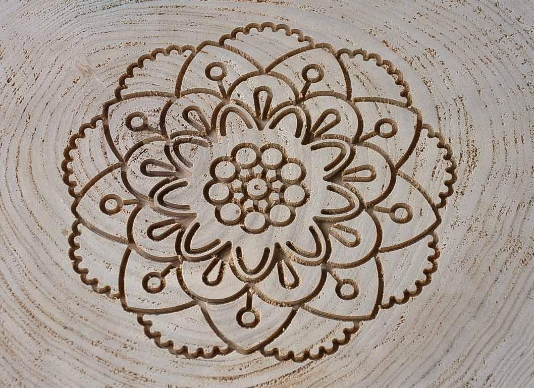 Sgabello basso anouk moderno in legno naturale e ferro galaxyprice