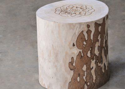Tavolino in Legno Ceppo
