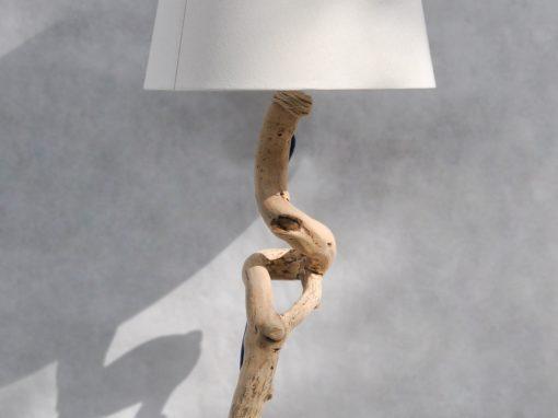 Lampada da terra legno Stelo