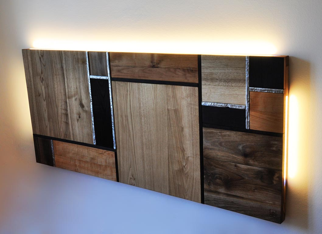Testiera in legno massello personalizzabile livyng ecodesign for Livyng ecodesign