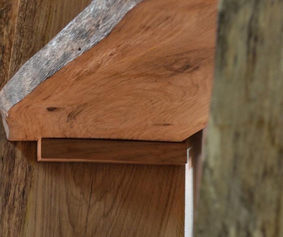 Libreria in legno naturale Senzatempo - Livyng Ecodesign