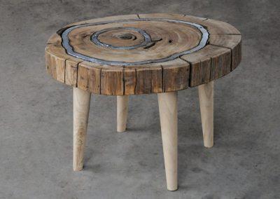 Tavolino in Legno Ganimede