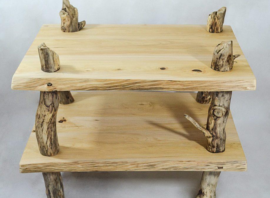 Tavolino in legno massello Agorà