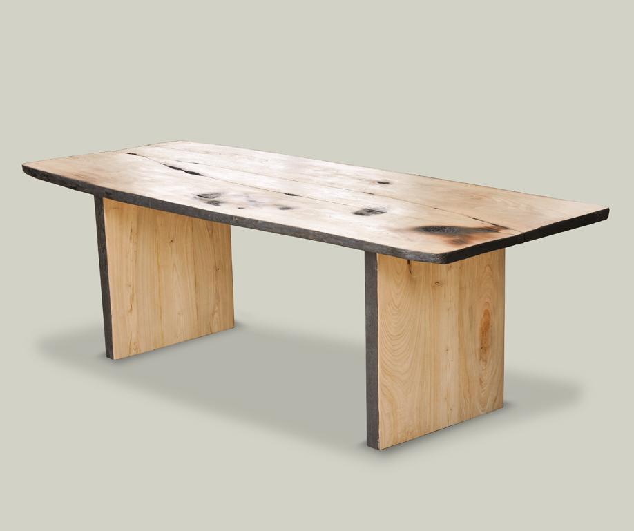 Tavolo in legno naturale fenice livyng ecodesign - Tavolo legno naturale ...