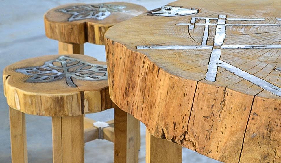 Tavolo in legno Titano